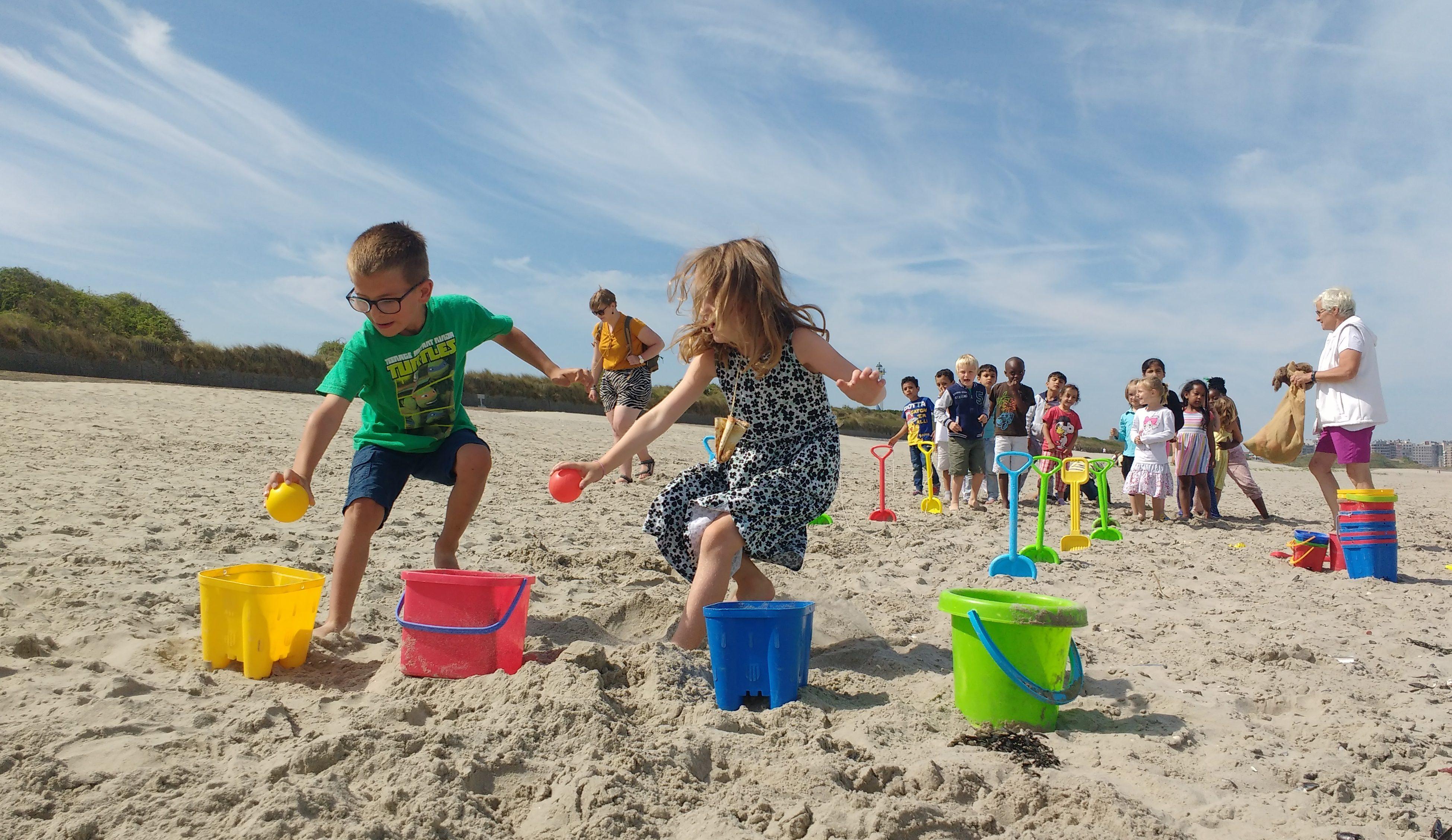 activiteiten thema naar het strand